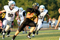 Manteo Junior Varsity Football versus First Flight 9/5/13