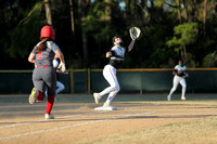Manteo Varsity Softball versus Gates 3/30/21