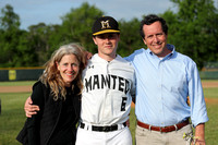 Manteo Baseball Conference Tournament 'Senior Night' versus Camden 4/29/19
