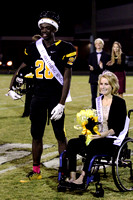 Manteo Varsity Football Homecoming versus Columbia 10/10/14