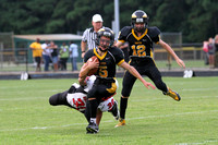 Manteo Junior Varsity Football versus Currituck 8/21/14