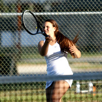 Lady Redskin Tennis versus First Flight 9/25/12