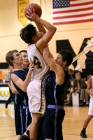 Manteo JV Basketball versus First Flight 12/14/12
