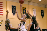 Lady Redskin Basketball versus Cape Hatteras 12/17/12