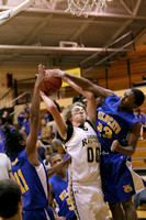 Manteo JV Basketball versus Columbia 1/3/13