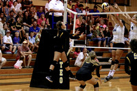 Manteo Volleyball versus First Flight 8/26/15