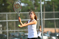 Manteo Tennis versus Northeastern 9/2/15