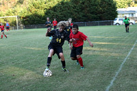 Manteo Middle Soccer versus Currituck 9/26/16
