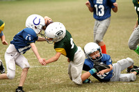 Dare County Youth Football Colts versus Packers 10/10/15