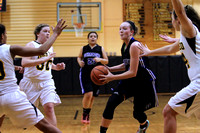 Manteo Women's Basketball versus Ocracoke 'Senior Night' 2/9/16