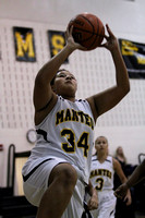 Manteo Middle Women's Basketball versus Elizabeth City 12/16/15