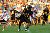 Manteo Varsity Football versus Currituck 8/24/13