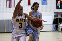 Manteo Middle Women's Basketball versus First Flight 2/3/16