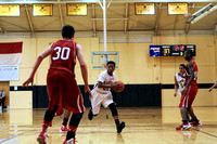 Manteo JV Basketball versus Gates 12/17/15