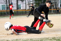 Manteo Middle Softball versus Currituck 3/6/16