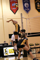 Lady Redskin Volleyball versus Gates County 9/3/13