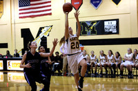 Manteo Women's Basketball versus Ocracoke 1/9/17
