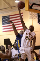 Manteo Varsity Basketball versus Plymouth 2/7/12