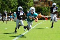 Dare County Youth Football Dolphins versus Bills 9/27/14