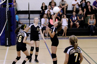 Manteo Middle Volleyball versus Moyock 10/13/14