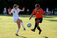 Lady Redskin Soccer versus Wallace-Rose Hill 5/14/14