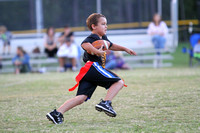 Dare County Youth Flag Football Ravens versus Pirates 10/2/14