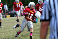 Dare County Youth Football Dolphins versus Redskins 10/11/14