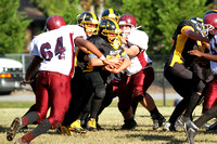 Manteo Middle Football versus River Road 9/27/14