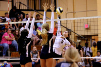 Manteo Volleyball versus First Flight 10/8/14