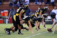 Manteo Junior Varsity Football versus Northside 9/25/14