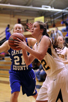 Manteo Women's Basketball versus Camden 1/27/15