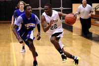 Manteo JV Basketball versus Columbia 1/28/15
