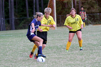 Manteo Middle Soccer versus First Flight 10/20/14