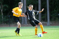 Manteo Middle Soccer versus Elizabeth City 9/15/14