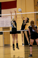 Lady Redskin Volleyball versus First Flight 8/16/11