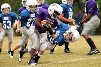 Dare County Youth Football Ravens versus Colts 11/2/13