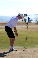 Manteo Golf Match versus Norfolk Collegiate 3/11/14