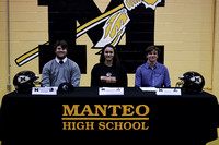 Manteo High School Signing Day 2/7/18