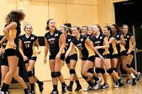 Lady Redskin Volleyball versus First Flight 8/26/13