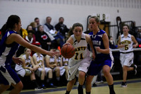 Manteo Middle Women's Basketball versus Camden 12/13/17