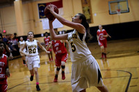 Manteo Women's Basketball versus Gates 1/11/18