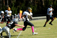 Manteo Middle Football versus Moyock 10/15/16
