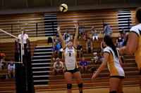 Manteo Volleyball versus Creswell 8/22/17