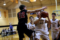 Manteo Varsity Basketball 'Spirit Night' versus Cape Hatteras 2/9/17