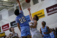 Manteo Middle Men's Basketball versus First Flight 1/31/18