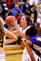 Lady Redskin Basketball versus Columbia 2/19/14