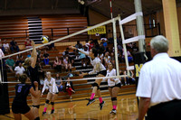 Manteo Volleyball versus Camden 10/5/17