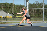 Manteo Tennis versus First Flight 9/13/17