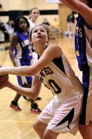 Manteo Women's Basketball versus Columbia 1/28/15