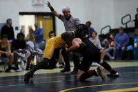 Manteo Middle Wrestling versus Elizabeth City 12/7/17